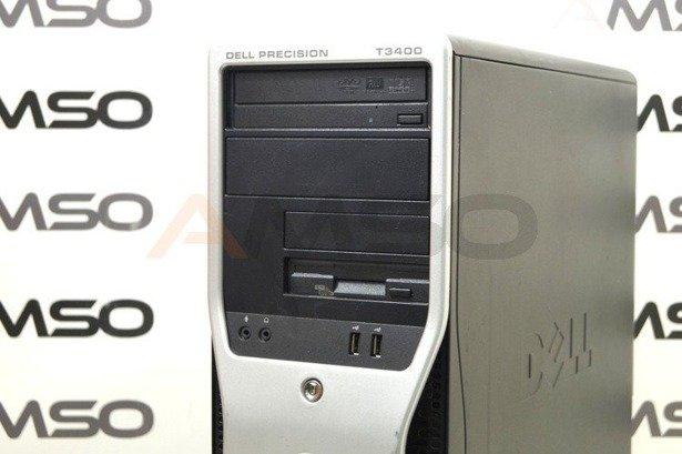 DELL Precision T3400 E8400 2x3.0GHz 4GB 120GB SSD DVD NVS