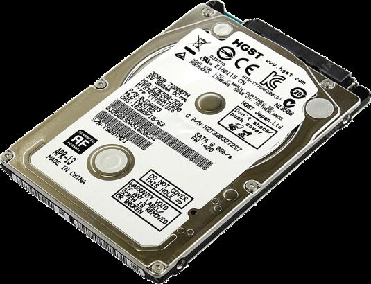 """DYSK TWARDY HGST 2,5"""" 500GB SATA 7200RPM"""