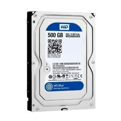 """DYSK TWARDY WD BLUE 3,5"""" 500GB SATA PC"""