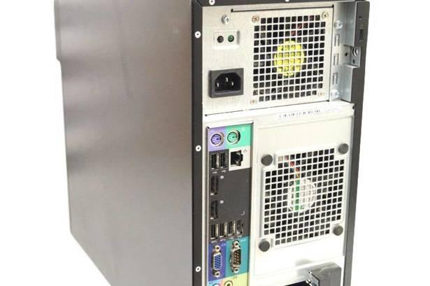 Dell Precision T1700 E3-1270v3 3.5GHz 16GB 480GB SSD DVD NVS Windows 10 Home PL