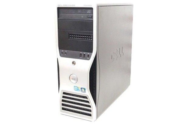 Dell Precision T3500 XEON X5550 4x2.66GHz 8GB 500GB DVD NVS Windows 10 Home PL
