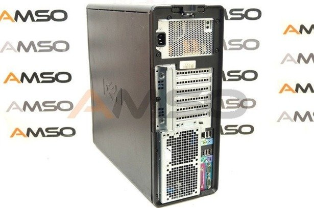 Dell Precision T5400 X5260 2x3.33GHz 4GB 500GB DVD NVS Windows 10 Home PL
