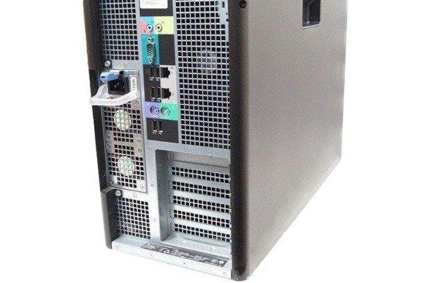 Dell Precision T7600 E5-2687W 8x3.1GHz 32GB 500GB+480SSD NVS Windows 10 Professional PL