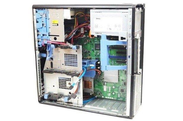 Dell T3500 XEON W3565 4x3.2GHz 24GB 240GB SSD NVS DVD Windows 10 Professional PL