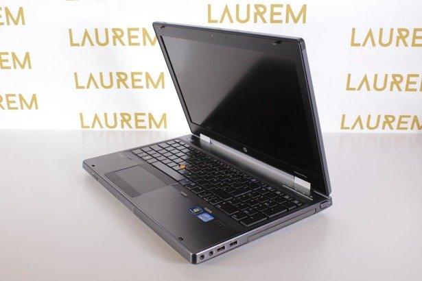 HP 8570W i7-3520M 8GB 120SSD FHD K1000M WIN 10 PRO