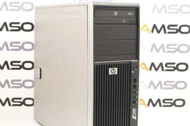 HP WorkStation Z400 W3520 4x2.66GHz 6GB 240GB SSD DVD NVS Windows 10 Professional PL