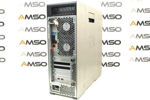 HP WorkStation Z600 E5620 4x2.4GHz 12GB 240GB SSD NVS DVD Windows 10 Home PL