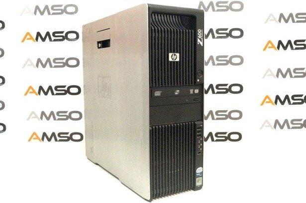 HP WorkStation Z600 E5620 4x2.4GHz 16GB 240GB SSD NVS DVD Windows 10 Home PL