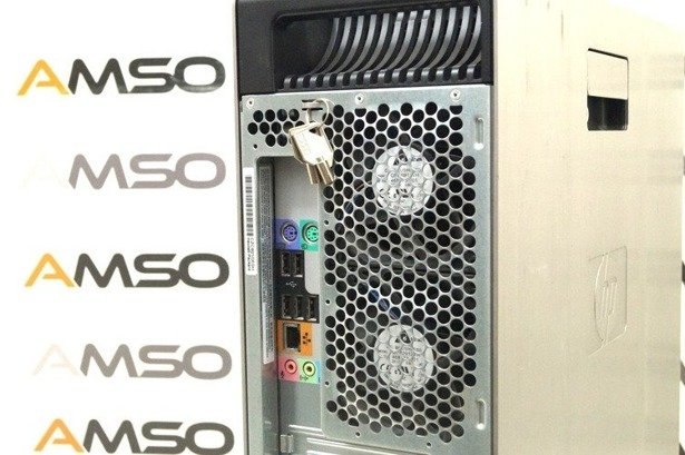HP WorkStation Z600 E5620 4x2.4GHz 16GB 480GB SSD NVS DVD