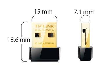 Karta sieciowa TP-Link TL-WN725N WiFi N USB