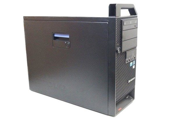 Lenovo ThinkStation D20 2xE5620 2.4GHz 16GB 240GB SSD DVD NVS Windows 10 Professional PL
