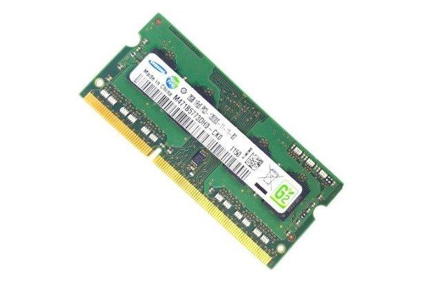 Pamięć RAM SAMSUNG 2GB DDR3 PC3 1333MHz Laptop