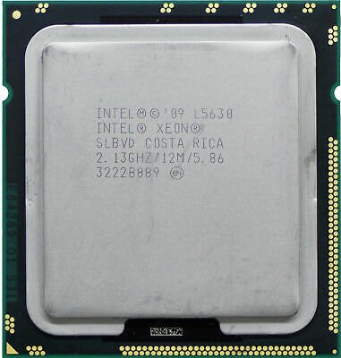 Procesor Intel Xeon L5630 4x2.13GHz 32nm 12MB 40W
